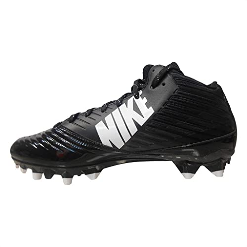 796cee74d6c6 Nike Vapor Speed 3 4 TD Football Cleat Black White 8  Buy Online at Low  Prices in India - Amazon.in