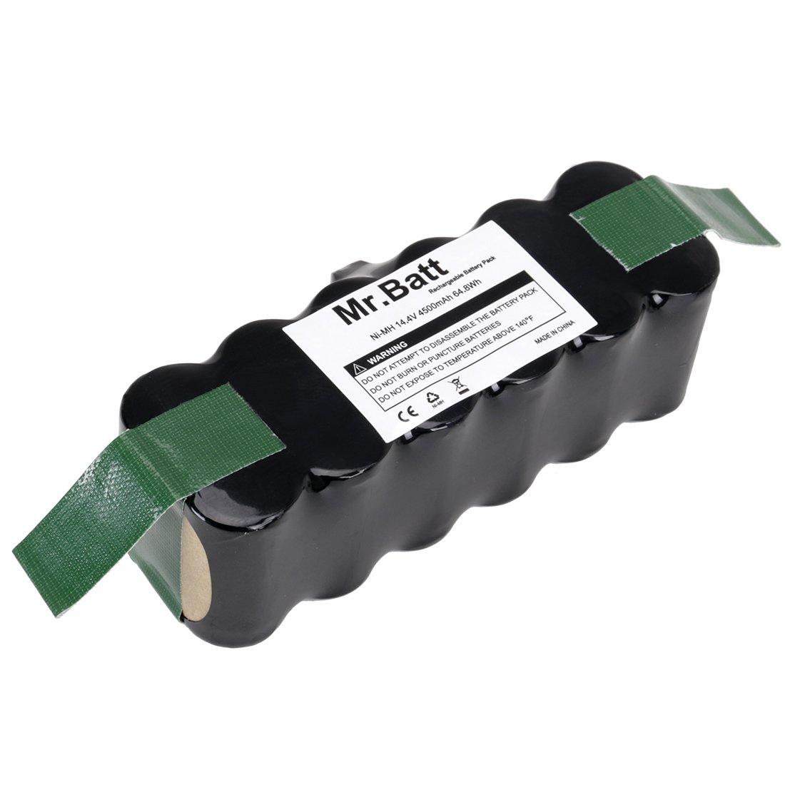 Mr.Batt 4500mAh High Capacity Ni-MH Replacement Battery for iRobot Roomba 500 600 700 800 Series Robot Vacuums