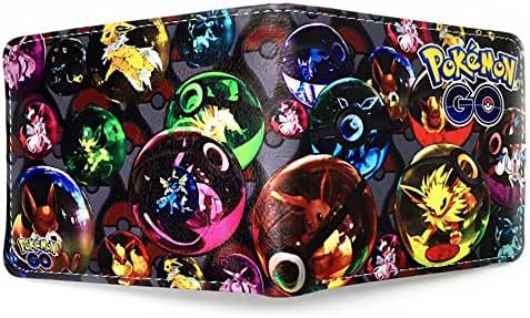 Anime Pokemon Go Mens Boys Wallet w/Gift box By Superheroes