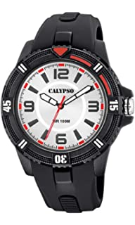 Calypso Watches Unisex Adult Analogue Classic Quartz Watch with Plastic  Strap K5759 1 5a396868429