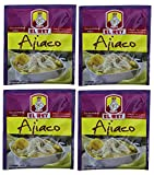 EL REY Ajiaco 20 gr.   Seasoning Mix 0.70 oz. - 4 Pack.Imported from Colombia.