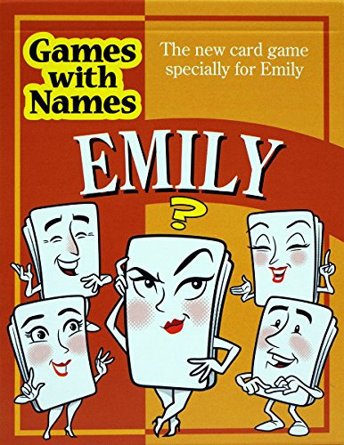 EMILY'S GAME: Stocking stuffer gift for people called EMILY etc (also secret santa or fun birthday gift for female or Christmas present).