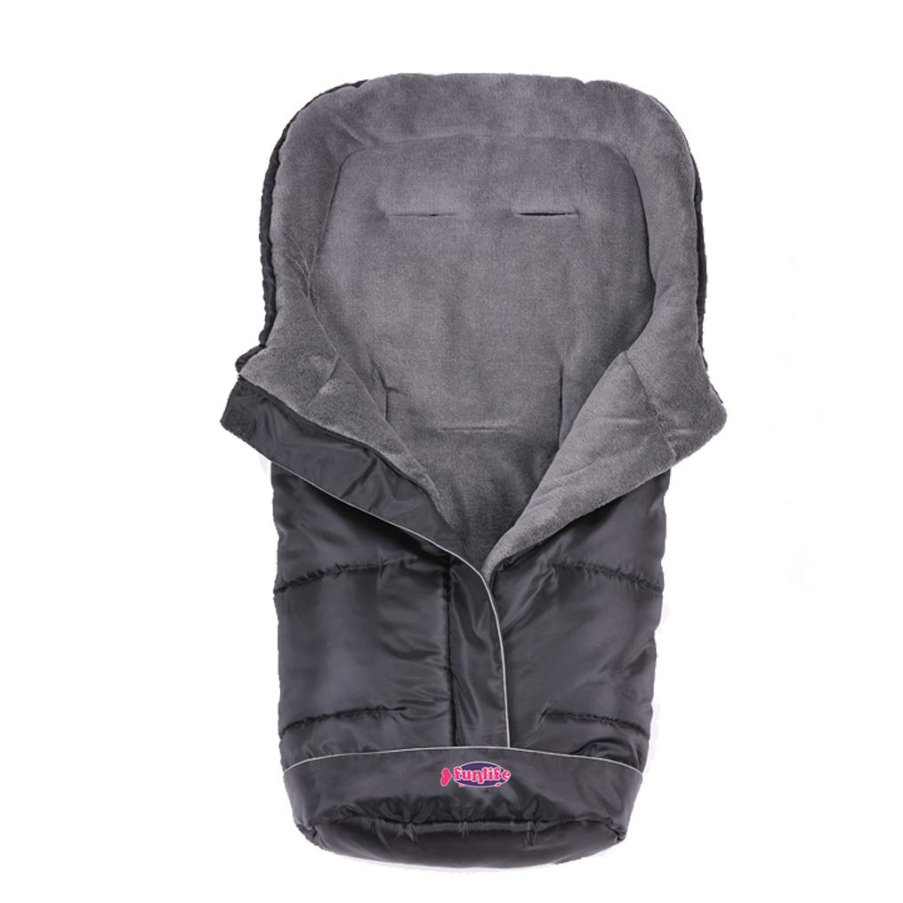 Universal Footmuff Fits Most Toddler Strollers/Sleeping Bag Cocoon Cozy Warmer for Baby Outdoor Walking with Unique Design