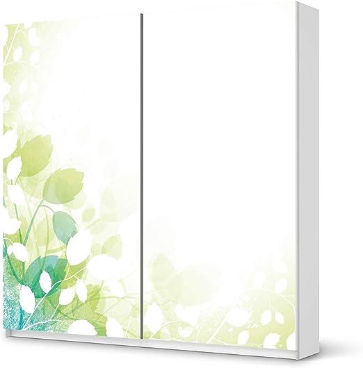 Los muebles-lámina de pegatinas para IKEA PAX armario de 201 cm de altura - puerta corredera