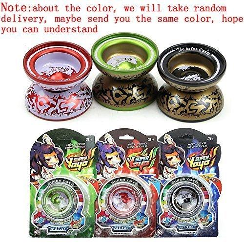 YSTD® New Alloy Magic Yo-Yo Ball For Kid Children Gifts