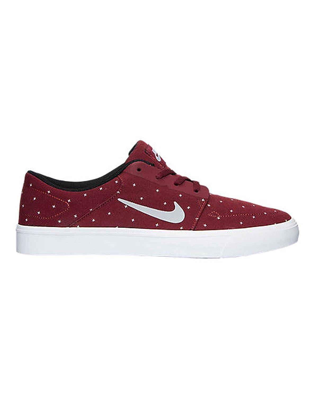 best sneakers f4ea2 e9545 Amazon.com  NIKE Mens SB Portmore Canvas Premium Casual Shoes RedGrey 9  D(M) US RedGrey  Skateboarding