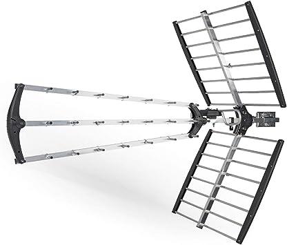 König Antena Exterior DVB-T/T2 18 dB UHF: Amazon.es: Electrónica