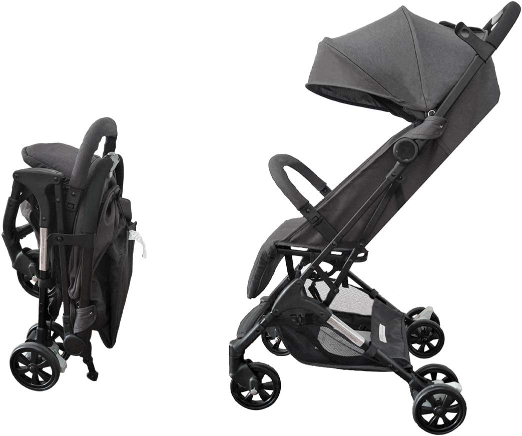 Silla de Paseo Star Ibaby Air light/Reclinable con barra de Seguridad. Ligera 5,6 kg. Color Grey.