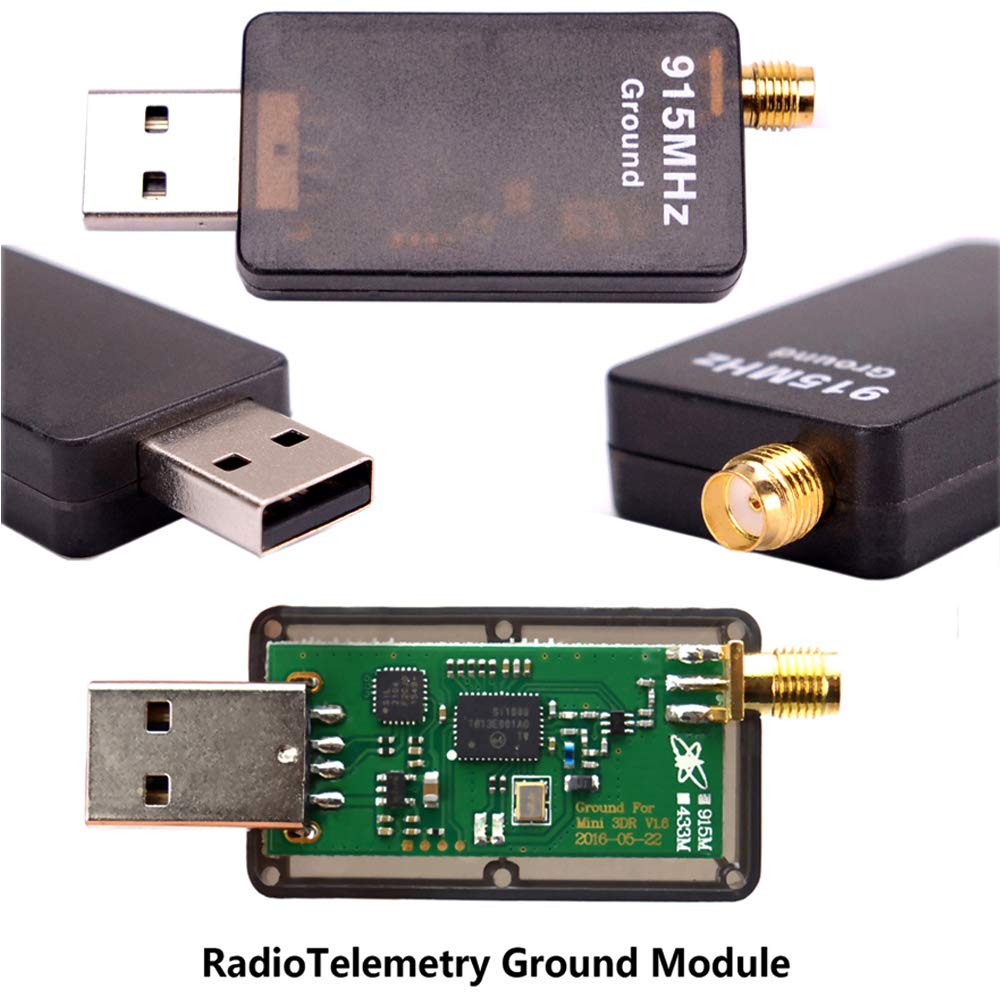 Readytosky 3DR Radio Telemetry Kit 915Mhz 100mW Air + Ground Module Open Source for Standard Version APM2.6 APM2.8 pixhawk 2.4.6 2.4.8 Flight Controller by Readytosky (Image #4)