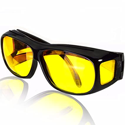 1a9372fb3cf Amazon.com  Polarized Night Vision Driving Sunglasses