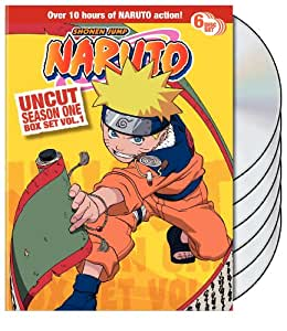 Naruto Uncut Box Set: Season 1, Vol. 1
