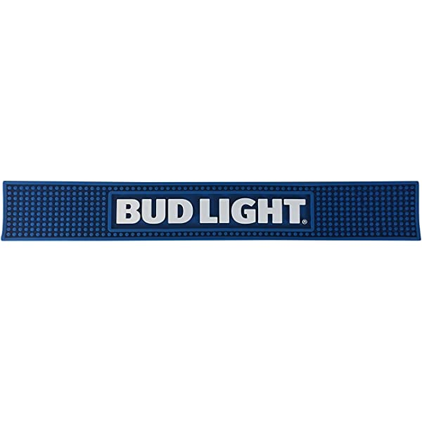 BAR or RAIL MAT Newest Style *NEW* BUD LIGHT BEER