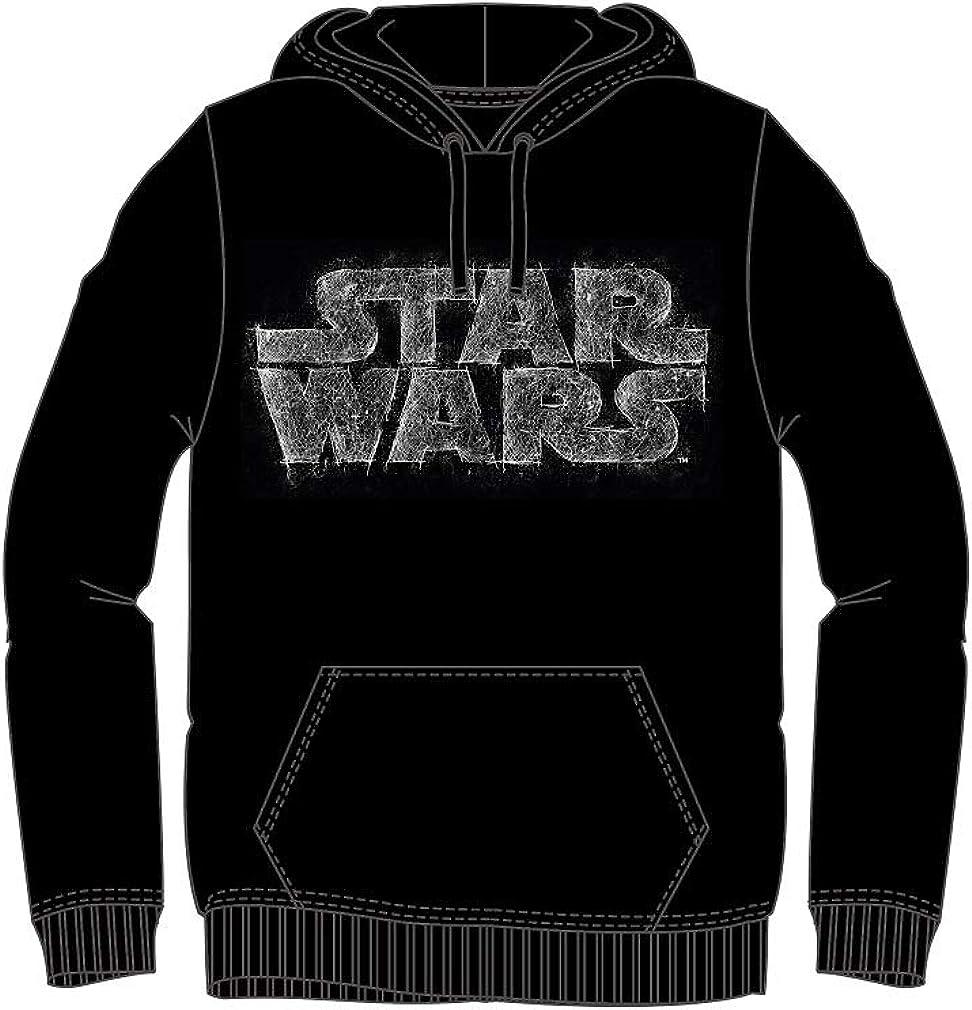 Sudadera Negra de Star Wars Talla XXL Composición 100% algodón: Amazon.es: Ropa y accesorios
