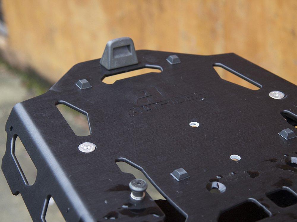 AltRider SU10-2-4000 Rear Luggage Rack for Yamaha XT1200 Black