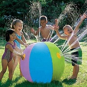 Balón grande, hinchable, de Doolland, para playa, verano, piscina, fiesta, niños, jardín, niños, al aire libre, natación: Amazon.es: Informática
