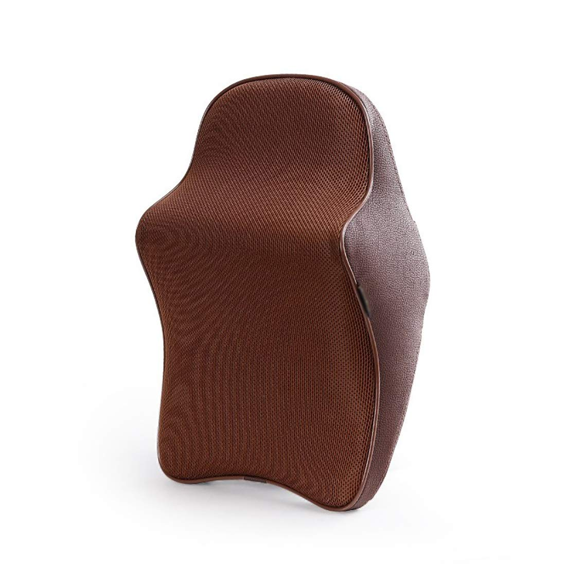 Casa perfecta Perfect House Seat Neck Pillow, car seat Ergonomic Cervical Spine Support Pillow, Long-Lasting Deformation, Breathable Memory Cotton. (Color : Coffee Color) by Casa perfecta