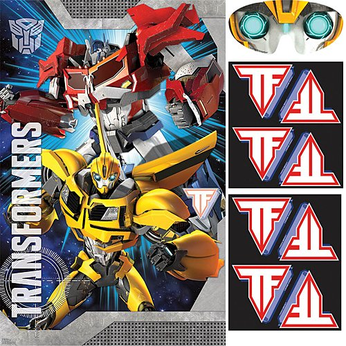 amscan Mighty Transformers Birthday Party Game, 37 1/2