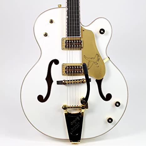 GRETSCH g6136t blanco Falcon guitarra eléctrica cuerpo hueco ...