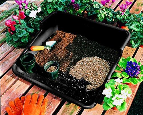 Tierra Garden Gp48b Tidy Potting Tray Black Price