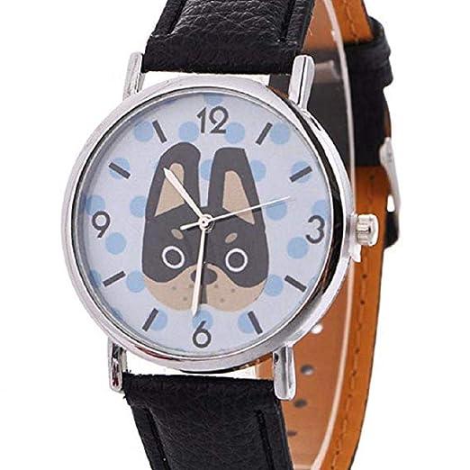 Scpink Relojes con Patrones de Animales para Mujeres, Relojes exclusivos para Dama, Relojes de Dama y caricaturas Relojes de Pulsera para Mujer.