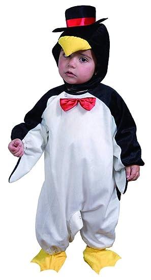 Fyasa 700901-tbb Disfraz de pingüino, Negro/Blanco, pequeño ...