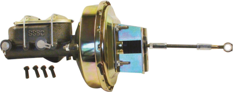 SSBC A28138 9'' Booster/Master Cylinder Kit for Disc Brake Cars