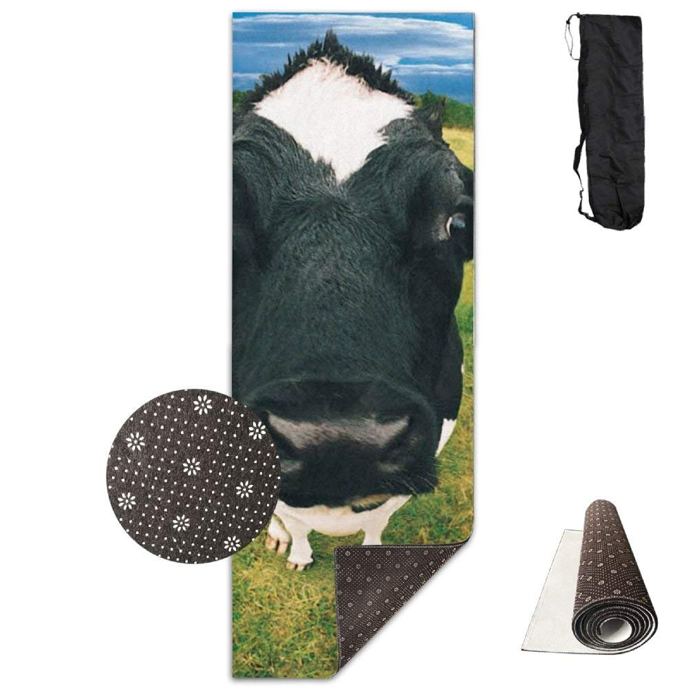 Funny Farm Animals Deluxe Yoga Mat Aerobic Exercise Pilates