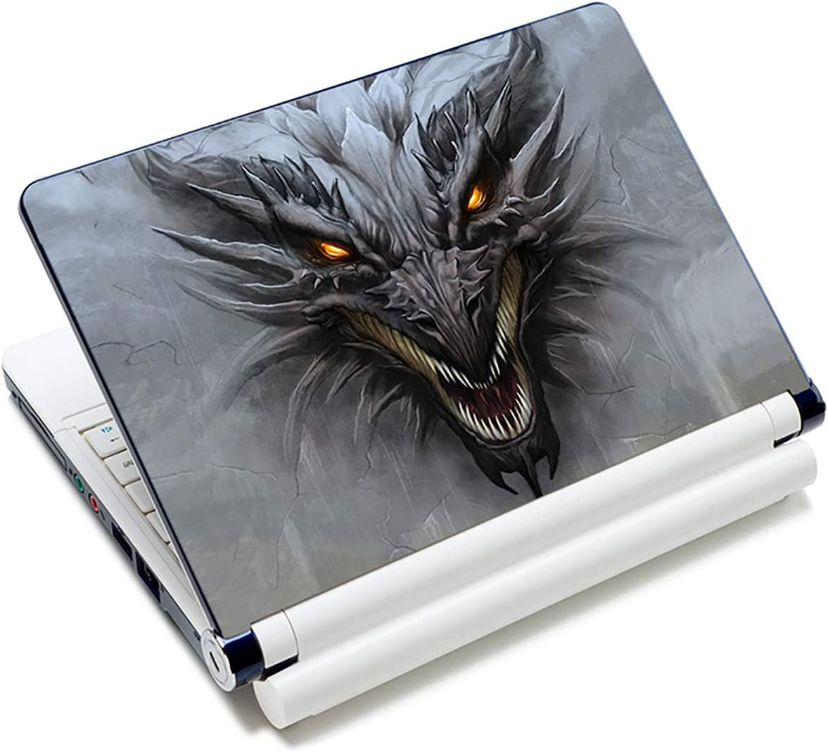 Laptop Notebook Skin Sticker Cover Decal Fits 12 13 13.3 14 15 15.4 15.6 inch Laptop Protector Notebook PC | Easy to Apply, Remove and Change Styles (Dragon)