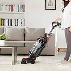 Eureka NEU180B Lightweight Powerful Upright, Pet Hair Vacuum Cleaner for Home, Graphite