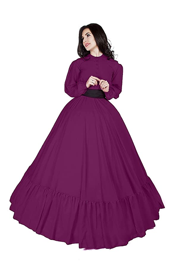 Amazon.com: Civil War Reenactment - Vestido victoriano ...