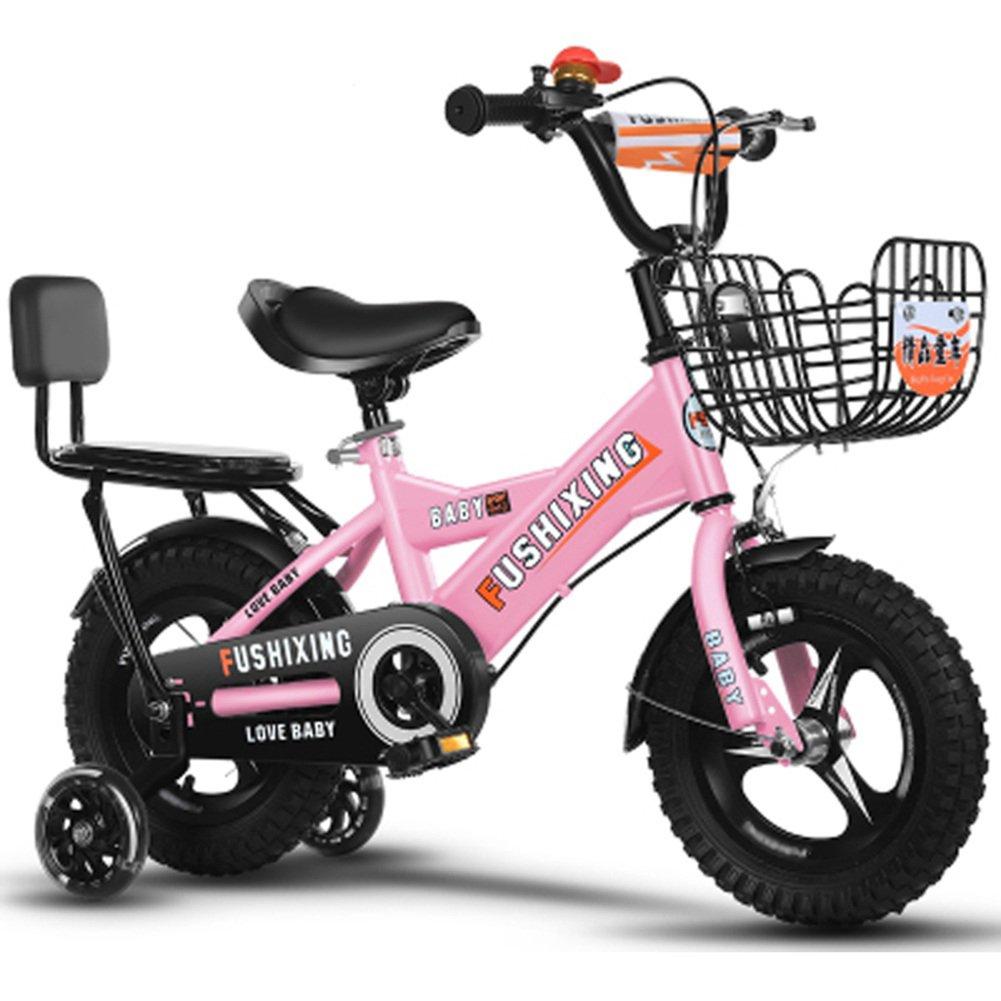 クリエイティブ自転車、少年の自転車の少年の自転車の自転車の自転車の衝撃の安全自転車の子供の自転車の長さの削減88-121CM (色 : ピンク ぴんく, サイズ さいず : 88CM) B07D2FTD7K 88CM|ピンク ぴんく ピンク ぴんく 88CM
