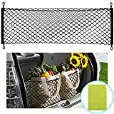Automotive : AndyGo Rear Cargo Trunk Storage Organizer Net for Car plus mounting points