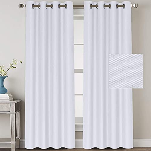 Linen Blackout Curtains 108 Inches Long