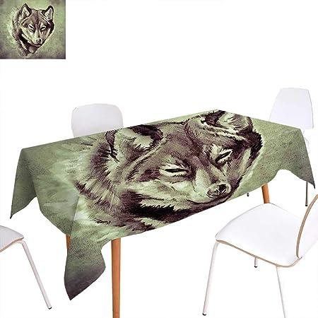 familytaste - Mantel con Estampado de Tatuaje, diseño de Gato ...