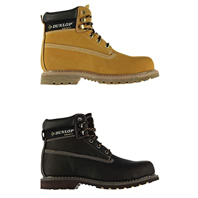23267c56b8e Amazon.com: Official Brand Dunlop Nevada Steel Toe Cap Safety Boots ...