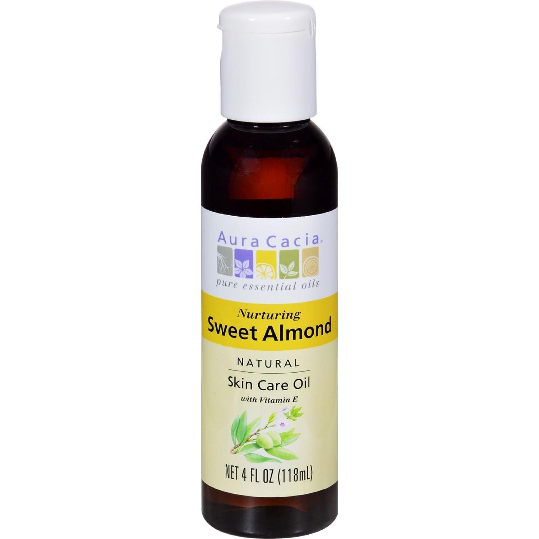 Aura Cacia Natural Skin Care Oil, Sweet Almond 4fl oz