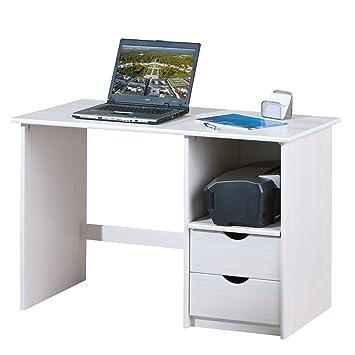 Inter Link Holzschreibtisch Computertisch Büromöbel Arbeitstisch ...