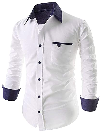 Buy Parth Fashion Men S Regular Fit Casual Shirt At Amazon In