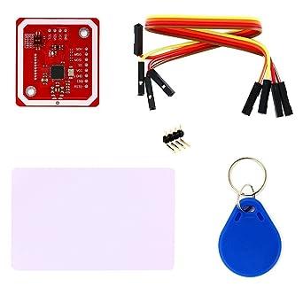 Amazon.com: rees52 PN532 NFC NXP lector de RFID Módulo V3 ...