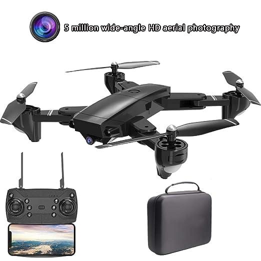 QPP-YP Mini dron Plegable cuadricóptero Antena fotografía Mando a ...