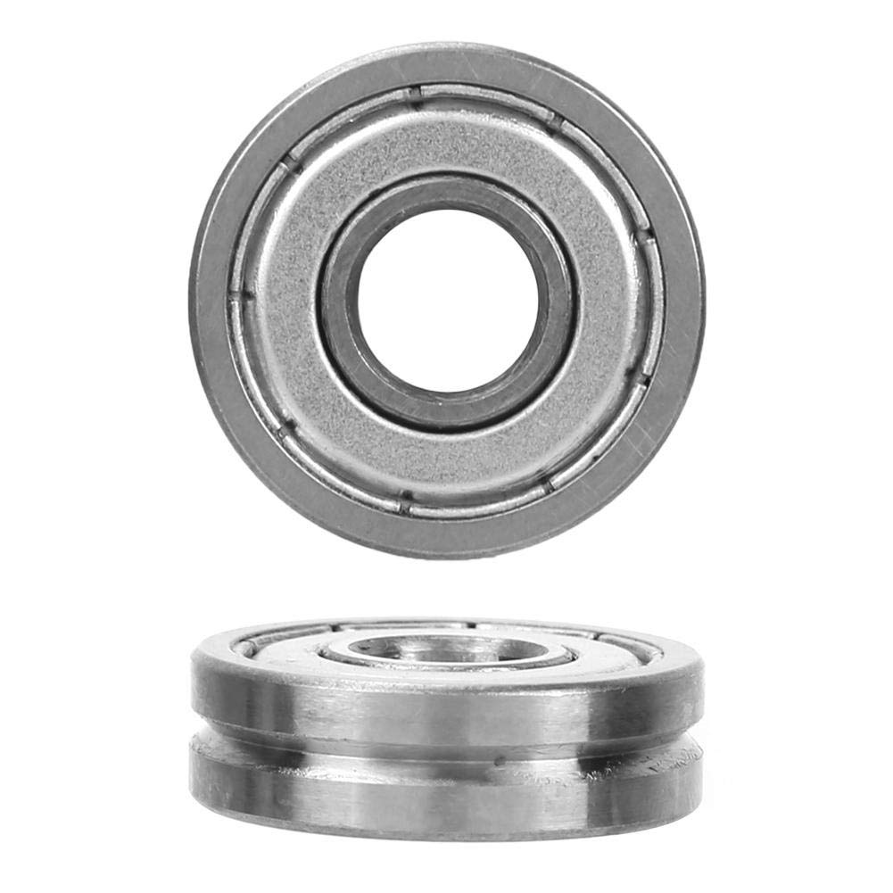 Incidence de cannelure de V roulements /à billes de roue de guide de V-Groove de V608//23 90 /° pour le redresseur de machine de ressort 8 7mm 23