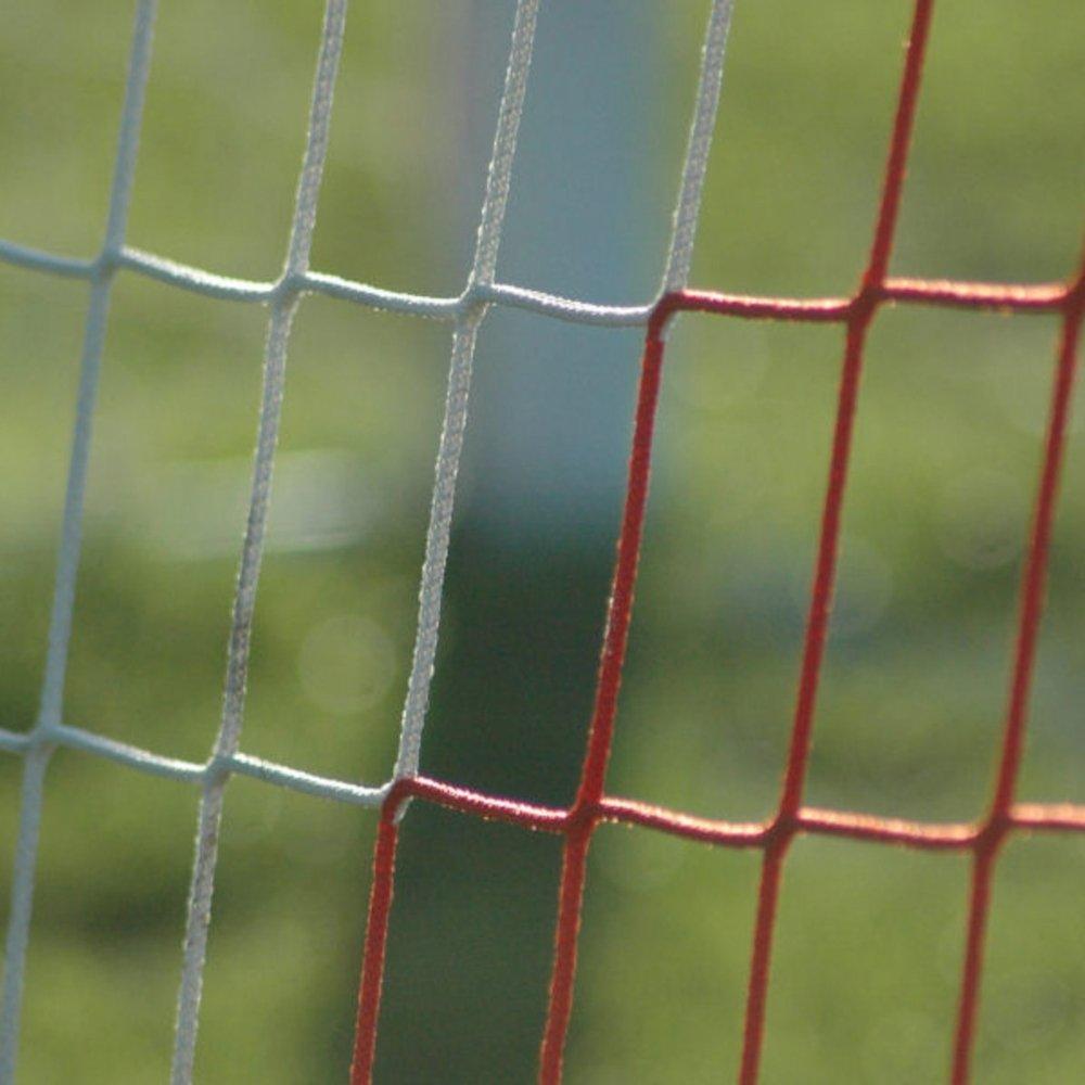 Soccer Sports Senior Continental Net 4mm For Portable Goal White