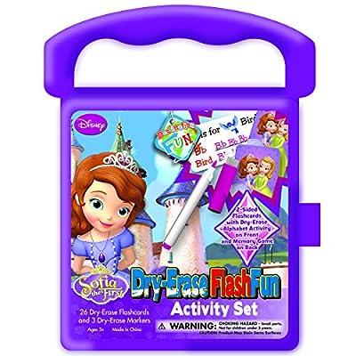 National Design Sofia The First Destination Fun Dry-Erase Flash Fun Activity Set: Toys & Games