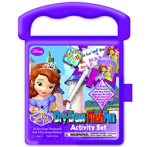 Activity Fun Set (National Design Sofia The First Destination Fun Dry-Erase Flash Fun Activity Set)