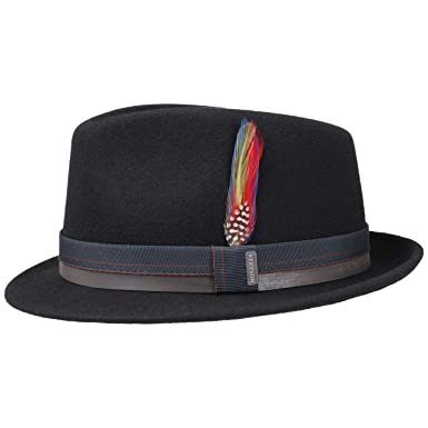 635be5782 Stetson Decato Wool Felt Trilby Men | at Amazon Men's Clothing store: