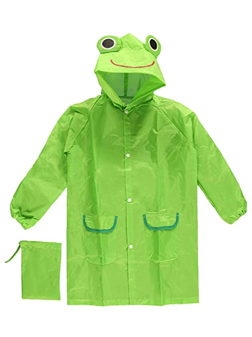 Cloudnine Childrens Froggy Raincoat, for ages 5-12 One size fits all by Cloudnine