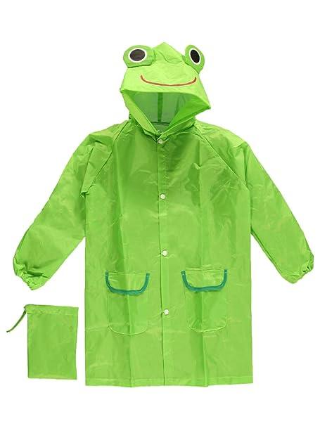CloudNine Children s Raincoat Frog  Amazon.in  Clothing   Accessories 69378b4b2