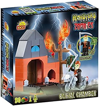 COBI Monsters vs Zombies Burial - Juego de Mesa: Amazon.es: Juguetes y juegos