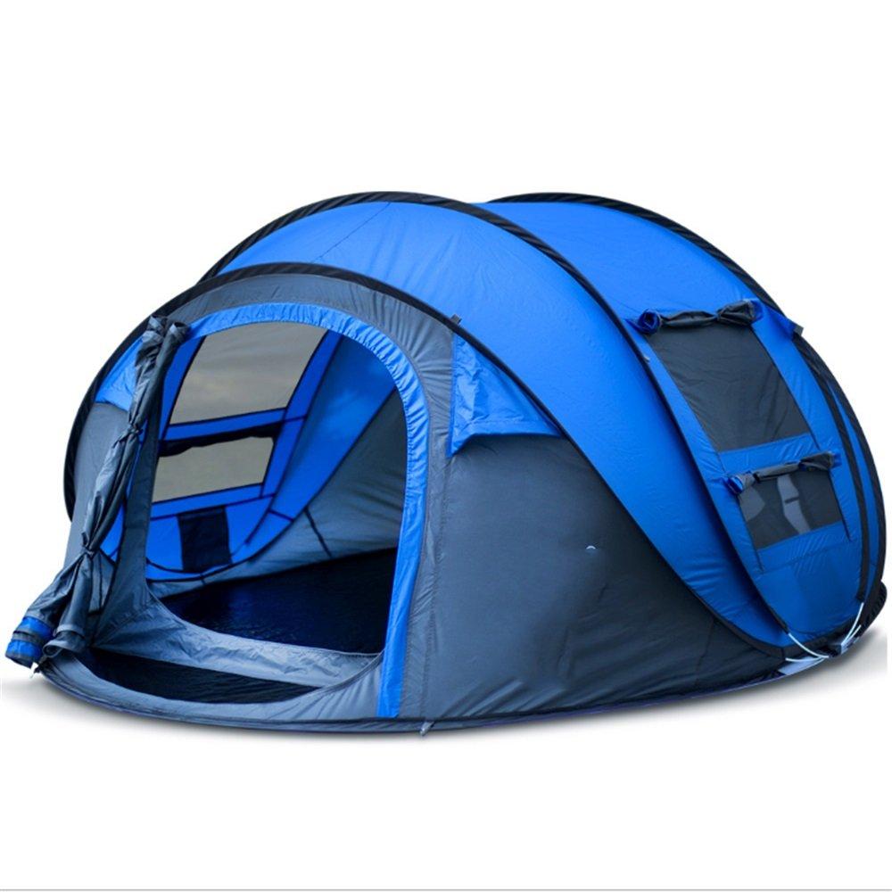 Hukangyu1231 Outdoor Supplies Camping Automatic Zelt Neu 3-4 Personen Geschwindigkeit Konto eröffnen Outdoor-Sportzelte;