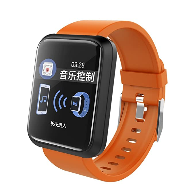 Amazon.com: Star_wuvi Fitness Tracker Bluetooth Smart Watch ...